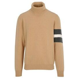 マルタンマルジェラ メンズ ニット&セーター アウター Martin Margiela Stripe Details Sweater BEIGE