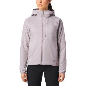 マウンテンハードウェア レディース ジャケット&ブルゾン アウター Mountain Hardwear Kor Strata Hooded Insulated Jacket mystic purple