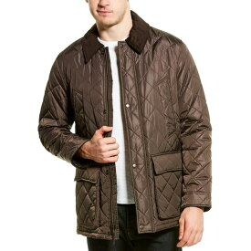 コールハーン メンズ ジャケット&ブルゾン アウター Cole Haan Quilted Barn Jacket -