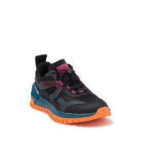 ブランドブラック レディース スニーカー シューズ Sierra Sneaker BLACK CRANBERRY ORANGE