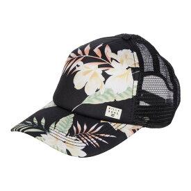 ビラボン レディース 帽子 アクセサリー Heritage Mashup Trucker Black/Green