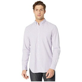 ジェイクルー メンズ シャツ トップス Slim Stretch Secret Wash Shirt in Basic Gingham Organic Cotton Basic Gingham Purple