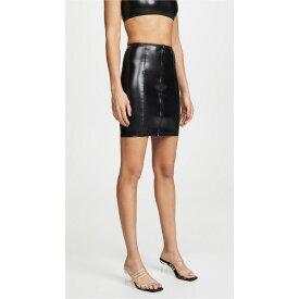リサマリーフェマンデス レディース スカート ボトムス Zip Skirt Black