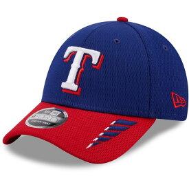 ニューエラ メンズ 帽子 アクセサリー New Era Men's Texas Rangers 2Tone Rush 9FORTY Stretch Snapback Cap Blue