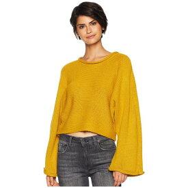 ビービーダコタ レディース ニット&セーター アウター BB Talk Jersey Stitch Cropped Sweater Marigold