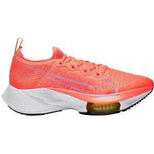 ナイキ レディース ランニング スポーツ Nike Women's Air Zoom Tempo Next% Flyknit Running Shoes BRIGHTMANGO/WHITE