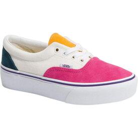 バンズ レディース スニーカー シューズ Era Corduroy Platform Sneaker Pink/White/Navy