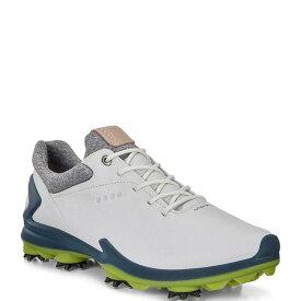 エコー メンズ スニーカー シューズ Men's BIOM G 3 GORE-TEX Golf Shoes Shadow White/Dark Petrol