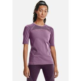 アンダーアーマー レディース シャツ トップス Sports shirt - polaris purple ieke01d0