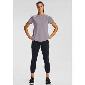 アンダーアーマー レディース シャツ トップス Basic T-shirt - slate purple ieke01d2