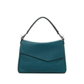 ボトキエ レディース ショルダーバッグ バッグ Cobble Hill Slouch Calfskin Leather Shoulder Bag EMERALD-TNEMR
