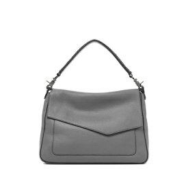 ボトキエ レディース ショルダーバッグ バッグ Cobble Hill Slouch Calfskin Leather Shoulder Bag PEWTER-SLPWT