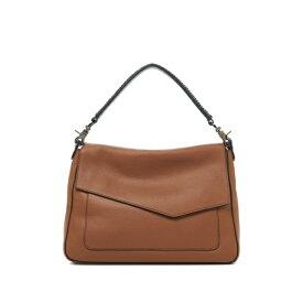 ボトキエ レディース ショルダーバッグ バッグ Cobble Hill Slouch Calfskin Leather Shoulder Bag COGNAC-SLCOG