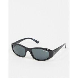 アーネット メンズ サングラス・アイウェア アクセサリー Arnette x Post Malone black square sunglasses Black