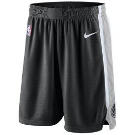 ナイキ メンズ カジュアルパンツ ボトムス Men's San Antonio Spurs Icon Swingman Shorts Black/Silver