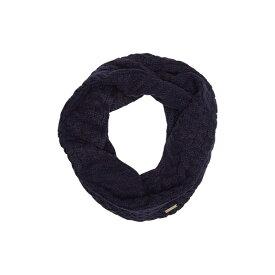 マイケルコース レディース マフラー・ストール・スカーフ アクセサリー Patchwork Cable Knit Infinity Scarf TRUE NAVY