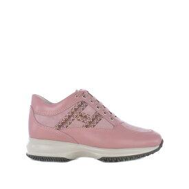 ホーガン レディース スニーカー シューズ Embellished Sneakers Rosaantico