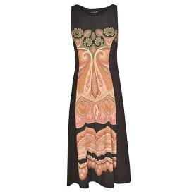 エトロ レディース ワンピース トップス Etro Sleeveless Dress Nero