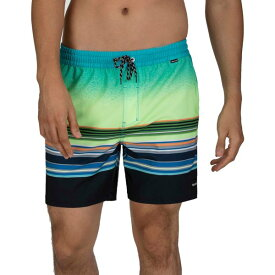 ハーレー メンズ 水着 水着 Hurley Men's Phantom Spectrum Volley 17'' Board Shorts GhostGreen