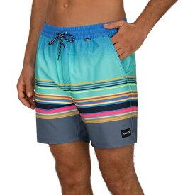 ハーレー メンズ 水着 水着 Hurley Men's Phantom Spectrum Volley 17'' Board Shorts AuroraGreen
