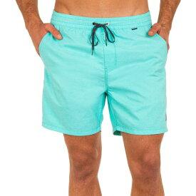 ハーレー メンズ 水着 水着 Hurley Men's OAO Cross Dye Volley 17'' Board Shorts AuroraGreen