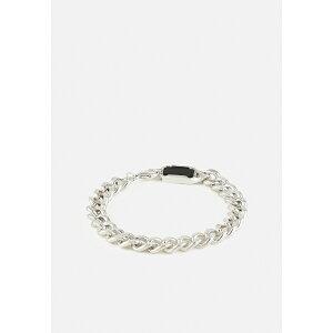 アイコンブランド メンズ ブレスレット・バングル・アンクレット アクセサリー DECO NUANCE COMPOSITE CHAIN BRACELET - Bracelet - silver-coloured