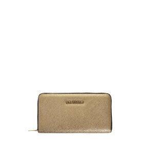 ラブ モスキーノ レディース 財布 アクセサリー Love Moschino Gold Color Faux Leather Love Moschino Wallet Gold
