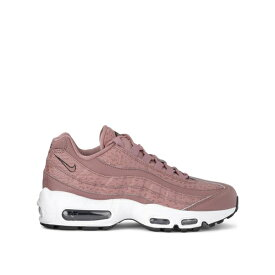 ナイキ レディース スニーカー シューズ Nike Model Air Max 95 Mauve Leather And Fabric Sneaker ROSA