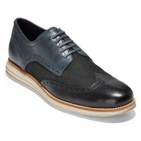 コールハーン メンズ ドレスシューズ シューズ Cole Haan 'Original Grand' Wingtip (Men) Ombre Blue Leather/ Denim