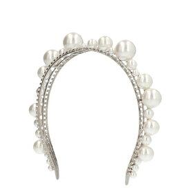 ジバンシー レディース 帽子 アクセサリー Givenchy Pearl Embellished Headband -