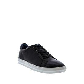 ザンザラ メンズ スニーカー シューズ Baden Leather Sneaker BLACK
