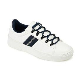 ジャーニーコレクション レディース スニーカー シューズ Women's Comfort Foam Arden Sneaker Navy