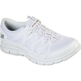 スケッチャーズ レディース スニーカー シューズ Gratis Allow Me Sneaker White/Navy/Red