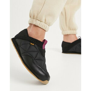 テバ レディース スニーカー シューズ Teva Ember Moc sneakers in black Black
