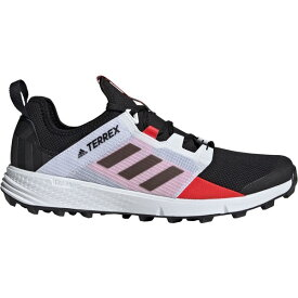 アディダス メンズ ランニング スポーツ adidas Men's Terrex Agravic Speed Trail Running Shoes Black/Red