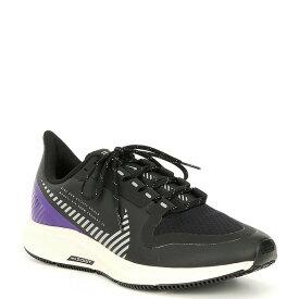 ナイキ レディース スニーカー シューズ Women's Air Zoom Pegasus 36 Shield Water-Repellent Running Shoes Black/Desert Sand/Voltage Purple/Silver
