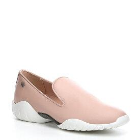 カルバンクライン レディース スニーカー シューズ Lee Leather Slip On Sneakers Nude