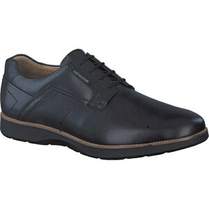 メフィスト メンズ スニーカー シューズ Men's Mephisto Vitorino Sneaker Black Randy Smooth Leather