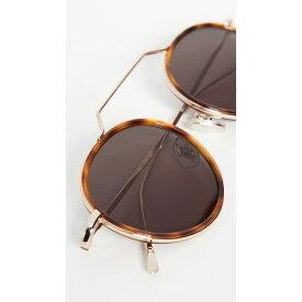 イレステバ レディース サングラス&アイウェア アクセサリー Wynwood Ace Sunglasses Havana/Gold/Grey