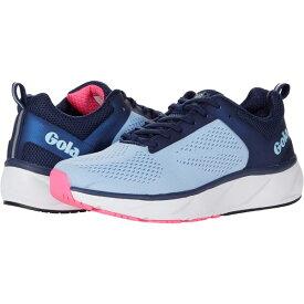 ゴラ レディース スニーカー シューズ Ultra Speed Run Vista Blue/Navy/Pink