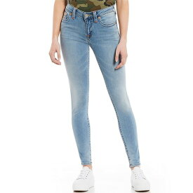 トゥルーレリジョン レディース デニムパンツ ボトムス Jennie Curvy Skinny Jeans Sky Light