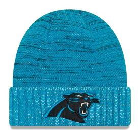 ニューエラ メンズ 帽子 アクセサリー Carolina Panthers New Era 2017 Color Rush Knit Hat Black