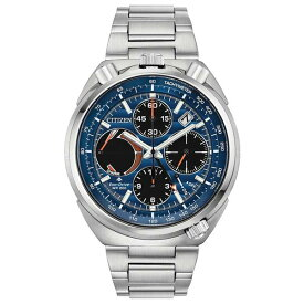 シチズン レディース 腕時計 アクセサリー Eco-Drive Men's Chronograph Promaster Tsuno Racer Stainless Steel Bracelet Watch 45mm No Color
