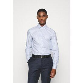 カルバン クライン テイラード メンズ シャツ トップス STRUCTURE EASY CARE SLIM SHIRT - Formal shirt - blue kpny0106