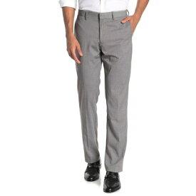 """イングリッシュランドリー メンズ カジュアルパンツ ボトムス Sharkskin Flat Front Suit Separates Pants - 30-32"""" Inseam GREY KEY"""