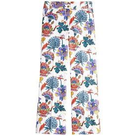 ジェイクルー レディース カジュアルパンツ ボトムス Printed Anderson Pants Ivory Multi