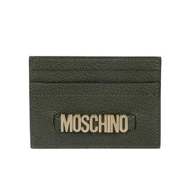 モスキーノ レディース 財布 アクセサリー Moschino Logo Card Holder -