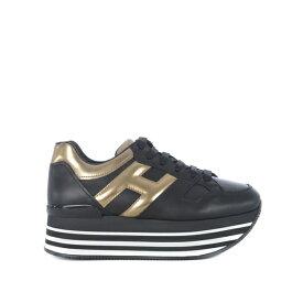ホーガン レディース スニーカー シューズ H222 Maxi Platform Sneakers Nero