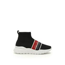 バリー レディース スニーカー シューズ Bally Brixie Sock Sneakers BLACKBlack