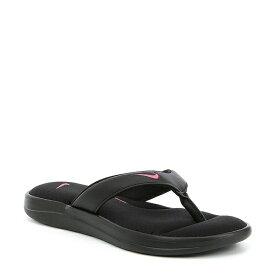 ナイキ レディース サンダル シューズ Women's Ultra Comfort 3 Thong Black/Hyper Pink